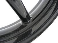 BST Wheels - BST 5 Spoke Front Wheel: 748-998, SS900ie/1000, Mhe, Monster S4/900ie/1000ie/S2/R/S4R/695ie/696, ST, MTS 620/1000/1100 - Image 2