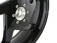 BST 5 Spoke Rear Wheel 6.0: 748-998, MH900e, Monster S2/R/S4R/S4RS/796/1100, MTS 1000/1100, HM-HS, SF848, 848