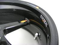"BST Wheels - BST Diamond TEK Carbon Fiber 5 Spoke Rear Wheel [6"" Rear]: Ducati 851-888, Monster 620-750-900, 900SS-1000SSie - Image 3"