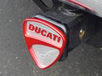 "Corse Dynamics ""DUCATI"" Billet Hitch Receiver Cover"