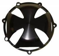 Clutch - Covers - Corse Dynamics - CORSE DYNAMICS Iron Cross Clutch Cover [4 Spoke]