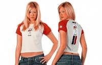 Returns, Used, & Closeout  - Closeout Apparel - DAINESE Closeout  - DAINESE Team Lady T-Shirt