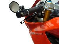Electrical, Lighting, & Gauges - Turn Signals - Oberon - OBERON Bar End Turn Signals Kit: Ducati 899/959/1199/1299 Panigale [Mirrors are sold seperately]