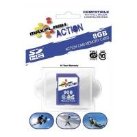Camera Systems - Camera Accessories - Maxflash Action SD Memory Card: 8 GB
