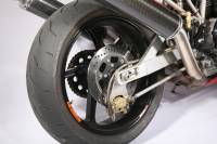 OZ Motorbike Piega Forged Aluminum Rear Wheel: Ducati Monster 900 93-01, All 750/900-1000 SS, 851, & 888