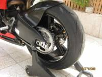 "BST Wheels - BST Diamond TEK Carbon Fiber 5 Spoke Rear Wheel [6.25"" Rear]: Ducati Desmosedici - Image 2"