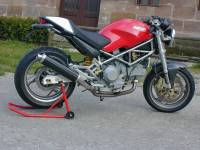 Spark Monster M600-1000/S4 Low Round Slip-on Carbon Fiber
