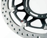 BREMBO HP T-Drive Disk Kit: [Ducati 5 Bolt/320mm, 10MM Offset] - Monster 796, Monster 1100 EVO, 821, 1200, Hypermotard, Diavel, MTS1200, Hyperstrada