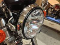 Corse Dynamics - CORSE DYNAMICS 7 Inch Headlight With Adapter Ring[Black Ring Only] - Image 3