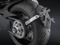 RIZOMA Arm-Side License Plate Support: Diavel