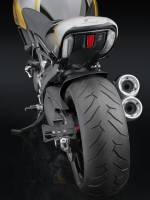 RIZOMA Side-Mount License Plate Support: Diavel