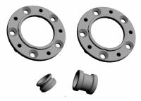 CORSE DYNAMICS Front Wheel Adapter Kit: Converts 1098/1198/SF/M1200 O.Z Piega Front wheels to fit Panigale Series