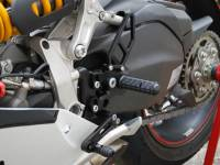 Woodcraft - WOODCRAFT CFM REARSETS 1199 / 899 PANIGALE COMPLETE  GP SHIFT - Image 1