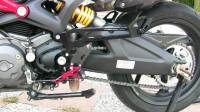 Ducabike - Ducabike Adjustable Passenger Rear Sets: Ducati Monster 696-796-1100 - Image 3