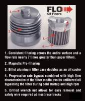 Flo Reusable Oil Filter: Ducati