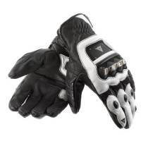 Men's Apparel - Men's Gloves - DAINESE Closeout  - DAINESE 4-Stroke Gloves - Black/White