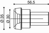 RIZOMA - RIZOMA Adapter for handle bar Mirror: BMW - Image 3