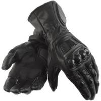 Men's Apparel - Men's Gloves - DAINESE Closeout  - DAINESE Steel Core Carbon Gloves - Black/Black
