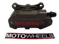 Brembo - BREMBO Hard Anodized 64mm Mount CNC 2 Piece Rear Caliper