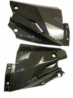 Returns, Used, & Closeout  - Closeout Carbon - CM Composit - CM Composit CF Lower Radiator Side Panels: Streetfighter