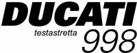 Ducati 998 Testastretta Sticker