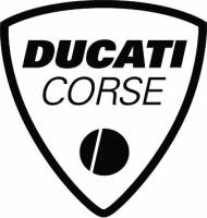 Stickers, Patches, & Toys - Stickers - Ducati Corse Die Cut Sticker: 4 inch