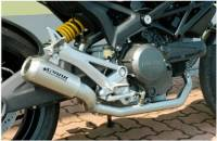 Spark Monster M796 MotoGP style titanium exhaust