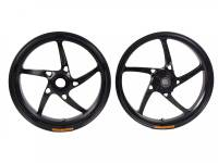 OZ Motorbike - OZ Motorbike Piega Forged Aluminum Wheel Set: Triumph Speed Triple/ Speed Triple ABS '11-'15