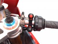 CORSE DYNAMICS Low Profile Aluminum Starter Switch: Universal Fit [Requires Splicing]