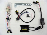 Motowheels - HID Headlight kit : H4 6000K [Low only]
