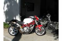 Oversized Fuel Tank  Ducati Monster S2R/M695/M620