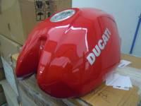 Ducati Monster S2R 800/1000, M620/695 Aluminum Tank
