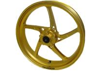 OZ Piega Front Gold Anodized