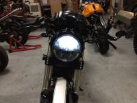 Corse Dynamics - CORSE DYNAMICS 7 Inch LED Spada Headlight w/ Adapter ring [Ducati Monster/Sport Classic] - Image 5