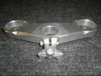 USED Ducati 848 Top Triple Clamp: Drilled & Tapped for Damper Conversion