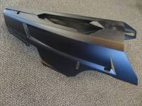 USED Ducati 848 OEM Belly Pan Set: Black Plastic