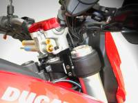 Ducabike Steering Damper Support Kit for Ohlins: Ducati Hyperstrada/Hypermotard 821-939