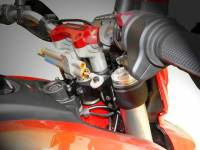 Ducabike Steering Damper Support Kit for Ohlins: Ducati Hyperstrada/Hypermotard 821-939