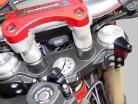 Ducabike - Ducabike Steering Damper Support Kit for Ohlins: Ducati Hyperstrada/Hypermotard 821-939 - Image 5