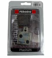 Ferodo - FERODO PLATINUM Organic Rear Brake Pads: Brembo Early Rear Caliper