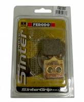 Ferodo - FERODO ST Front Sintered Brake Pads For Brembo 4 Pad Caliper :Sold per caliper [Single Pack]