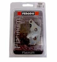 Ferodo - FERODO PLATINUM Organic Rear Brake Pads: Brembo Sliding Rear Caliper