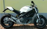 Spark Monster M696 MotoGP style titanium exhaust