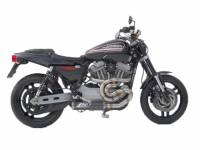 Exhaust - Full Systems - Zard - ZARD 2-1 SS/CF Full System: Harley Davidson XR1200