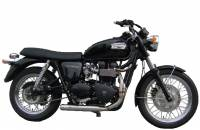 ZARD Low Mount Cross 2-1 SS/SS Full System: Triumph Bonneville Injected