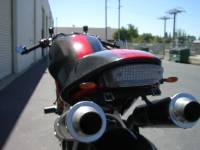 Motowheels - MW License Plate Relocator: Monster: early - Image 4