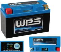 Electrical, Lighting, & Gauges - Batteries and Spare Parts - WPS - WPS Featherweight Lithium Battery [Replacement for YT12B-BS]