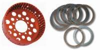 Clutch - Baskets - STM - STM Ducati 48T Plates & Clutch Basket Set: 888 / 748-998 / 749-999 / MH900e / M900-1000 / S2R / S4R / MTS1000 / SC / ST / SS