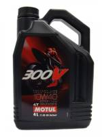 Tools, Stands, Supplies, & Fluids - Fluids - Motul - MOTUL 300V Factory Synthetic 10W40 Oil [4 Liter]