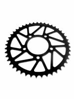 Drive Train - Rear Sprockets for BST/OZ/Marchesini Wheels - SUPERLITE - SUPERLITE RS8-R 525 Pitch Black Hard Anodized Alloy Rear Sprocket: BST/Marchesini/OZ